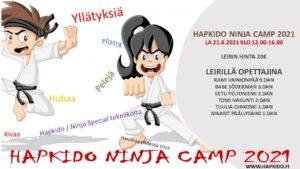 Hapkido NINJA Camp Info !